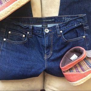 Calvin Klein Flare Blue Jeans 28/6